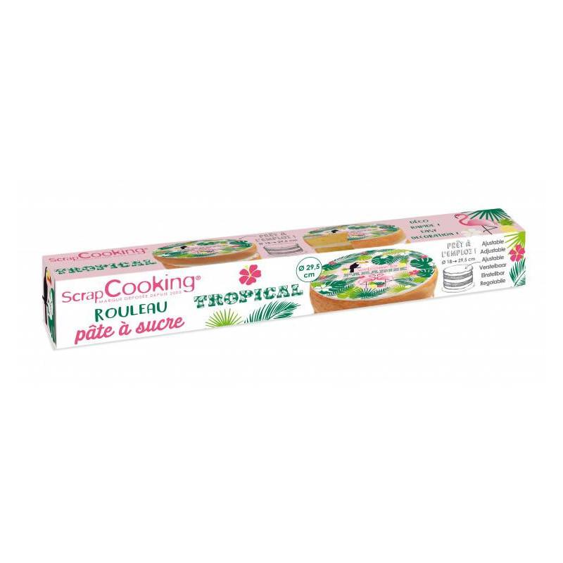 Sugar roll dough for Tropical cake