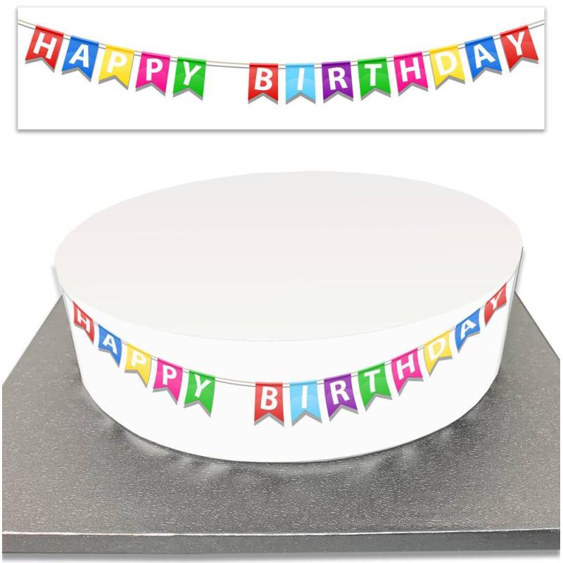 Sugar Cake Contour Anniversary Pennants