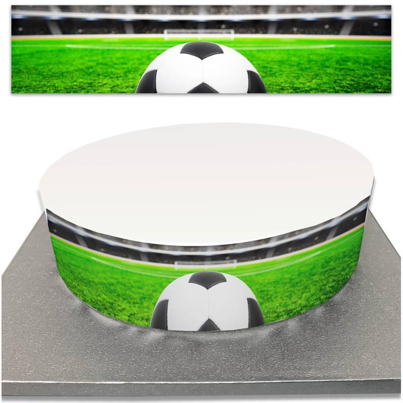 Sugar Cake Contour for Football and Ball Cake