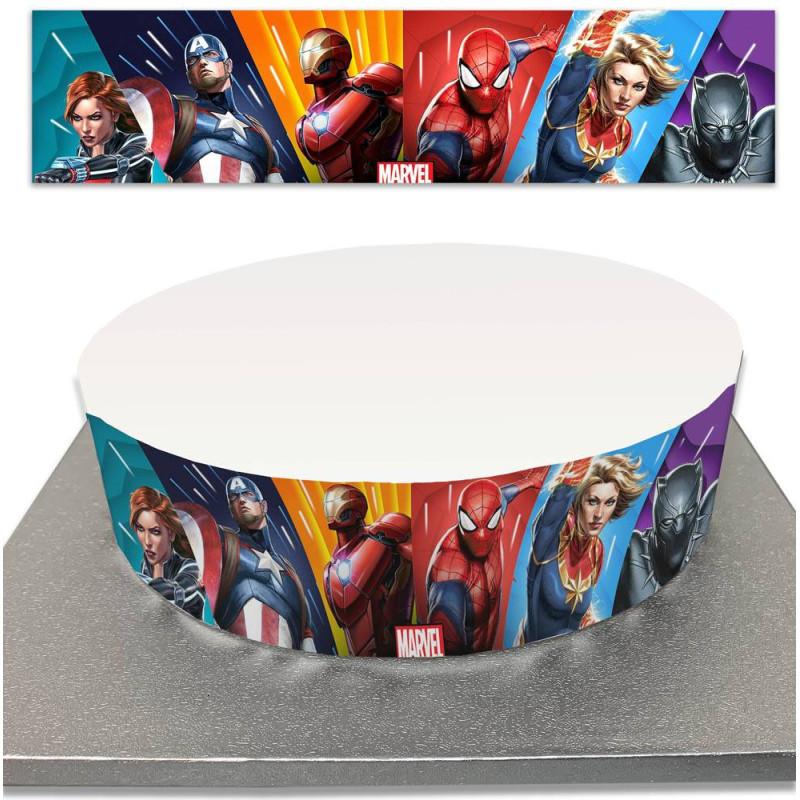 Sugar Cake Contour for Super Hero Cakes