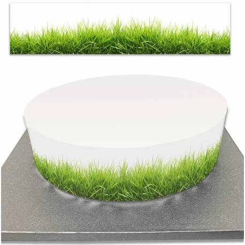 Sugar Cake Contouring Grass and Nature
