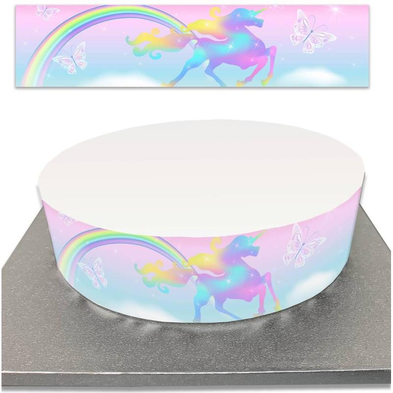 Sugar Cake Contour for Unicorn Cakes