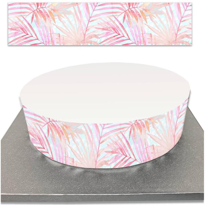 Sugar Cake Contour for Tropic flamingo cakes