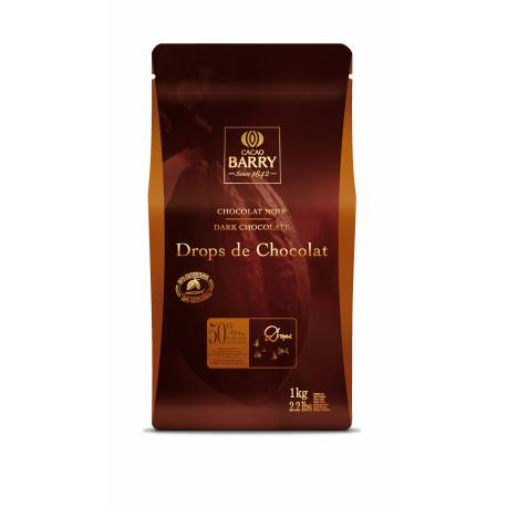 Dark chocolate chips 50%Drops de Callebaut 1 kg