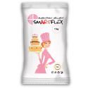 Masa de azúcar de vainilla rosa para bebés Smartflex - 1 kg
