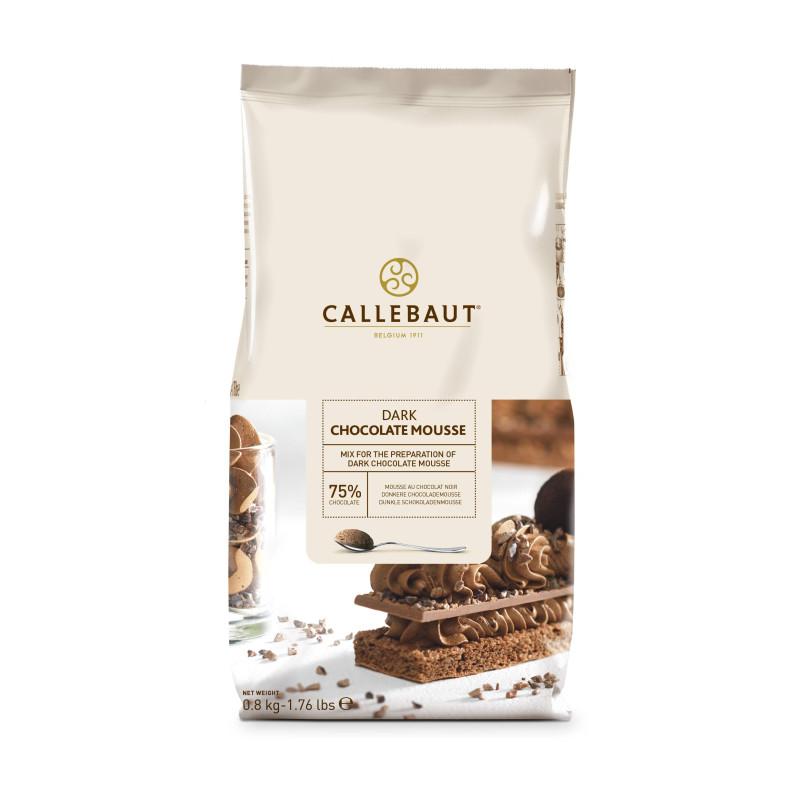 Mousse de chocolate negro en polvo Callebaut - 800 g