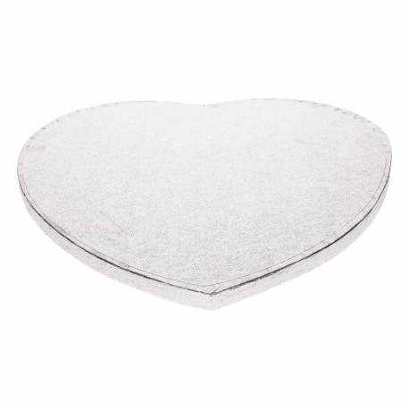 Thick heart-shaped cake tray - 27,5 cm