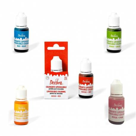 Fat-soluble food colours 15 g