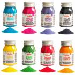 Cristaux de sucre colorés 100 g