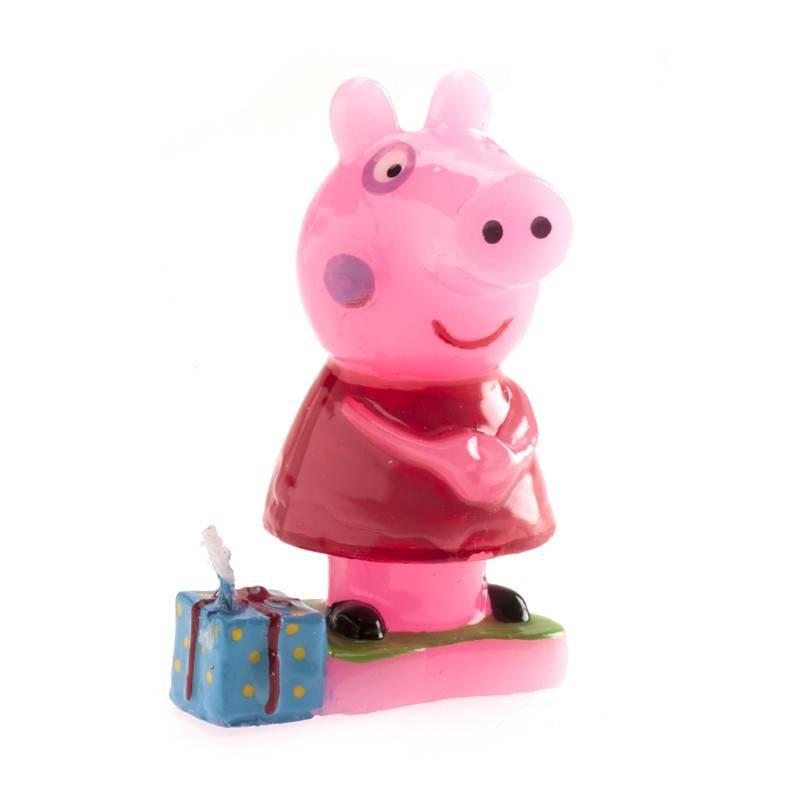 Bougie PEPPA PIG et son cadeau