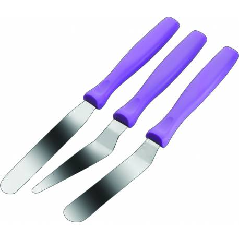Mini spatules en inox 10 cm - 3 modèles