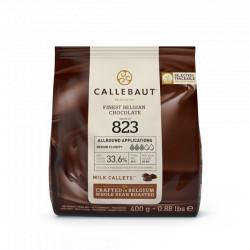Chocolat au lait 33,5% en Gallets 400g de Callebaut 823