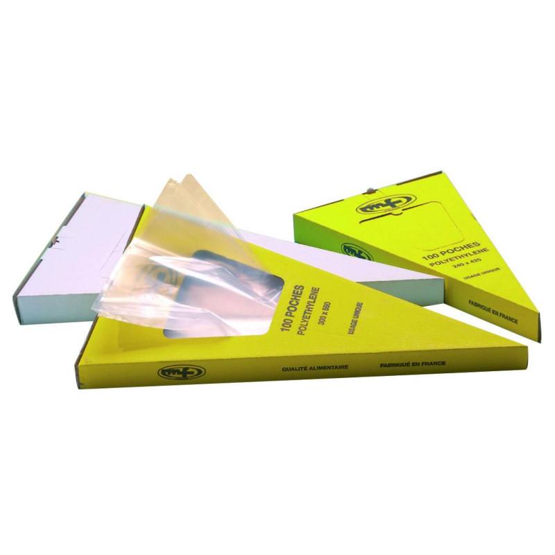 Poches à douilles boîte distributrice 55 cm x100