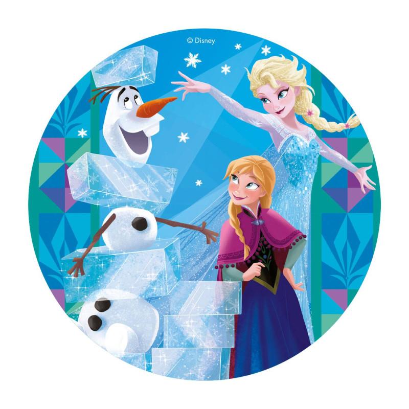 Disque azyme La reine des neiges 2