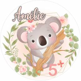 Personalized Baby Elephant Food Print