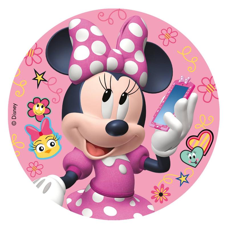 Edible disc Minnie 16 cm