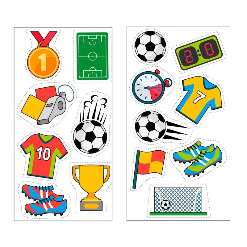 Football edible decorations - 15 models