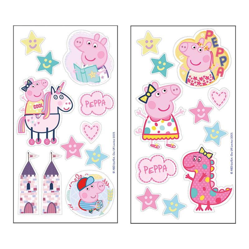 Peppa Pig edible decorations - 22 models