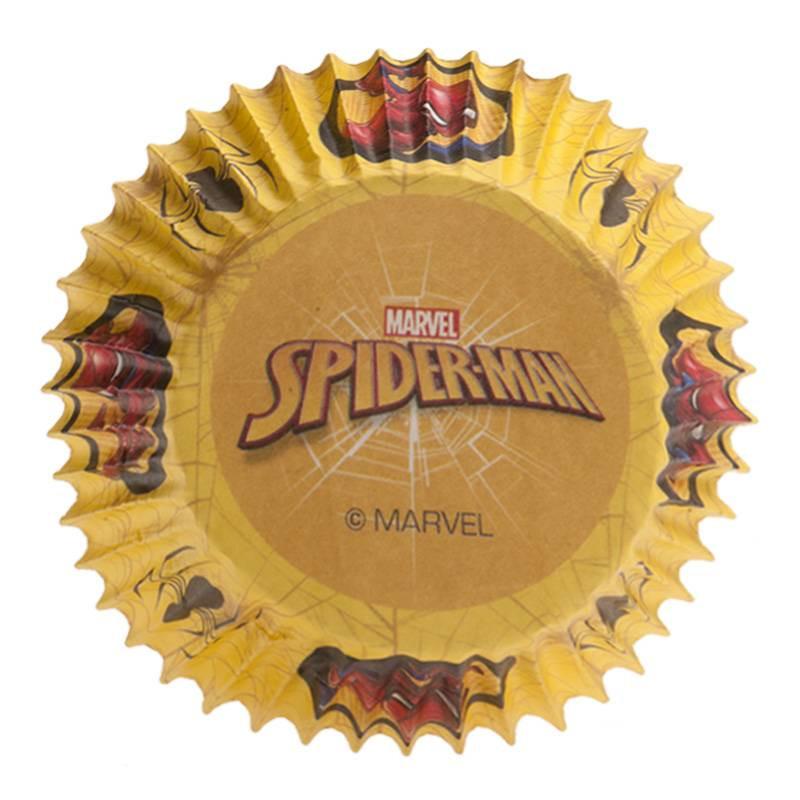 Caissettes à cupcakes Spiderman x25