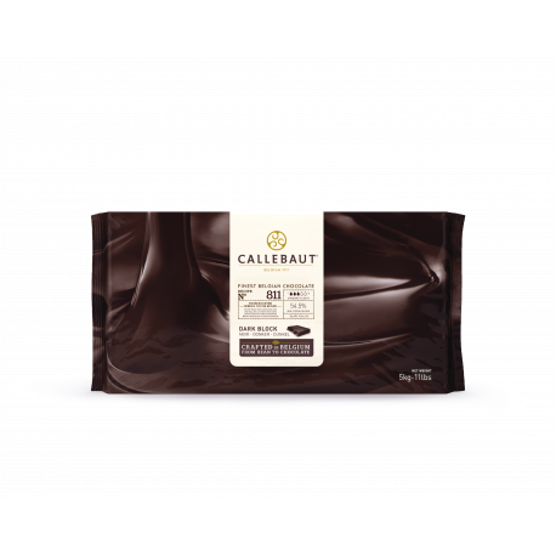 Callebaut Dark Chocolate Cover 811 55% block 5 kg