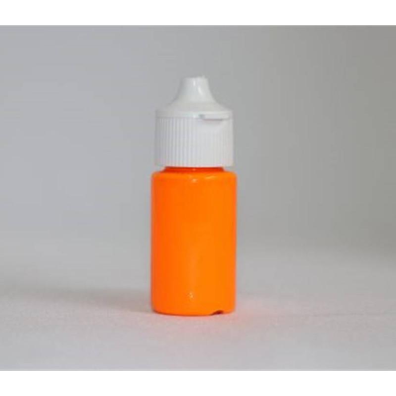 Colorant en gel fluorescent orange Rolkem 15 ml