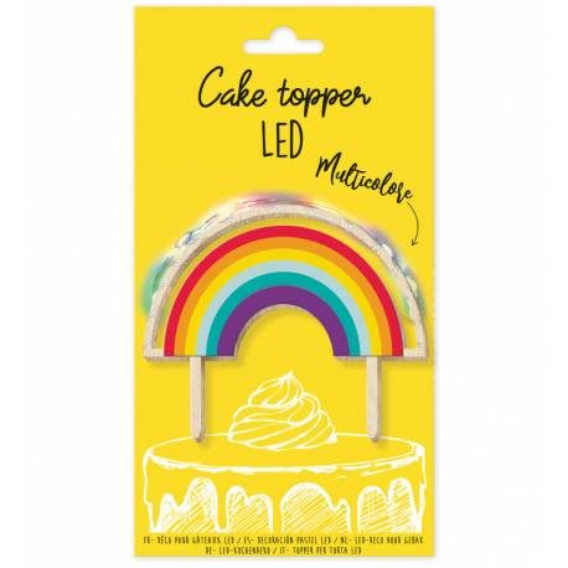 Topper arco iris led