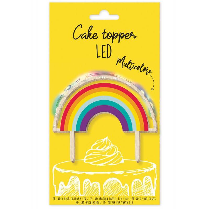 Topper rainbow led