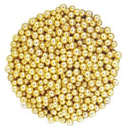 Perles or en sucre 500 g - 4mm