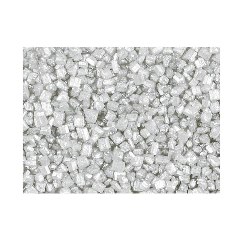 Silver sugar crystals 700 g