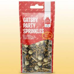 Mix sprinkles Gatsby or et noir 50 g