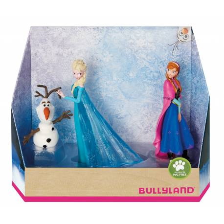 Figurine The Snow Queen - 3 characters