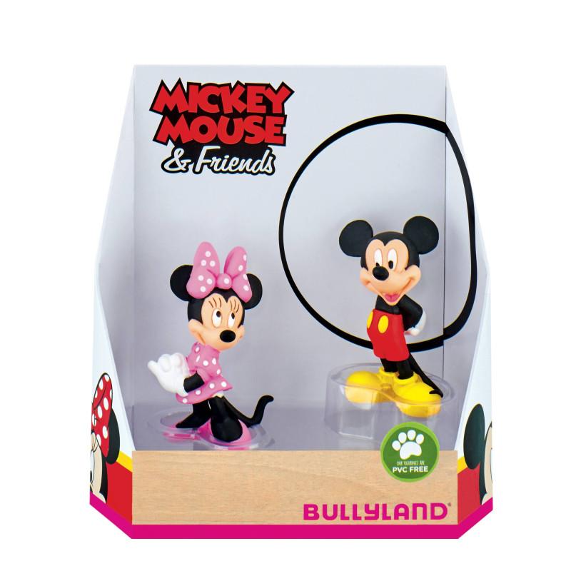 Figuras de Mickey y Minnie - 6,5 cm