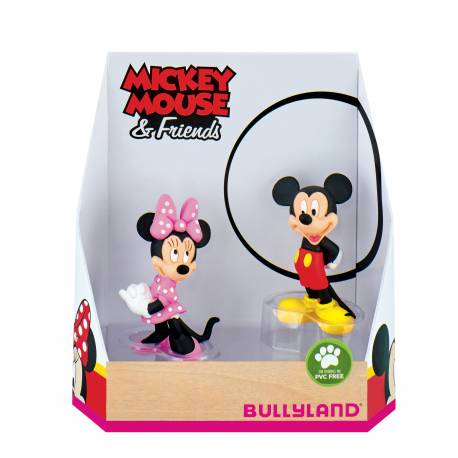 Mickey and Minnie figures - 6.5 cm