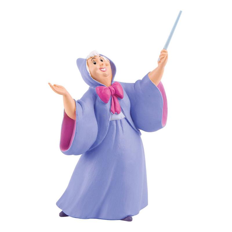 Cinderella's fairy godmother figure - 11 cm