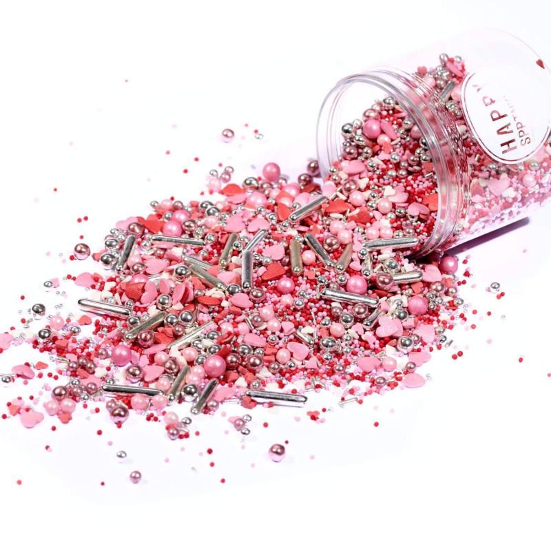 Happy Sprinkles Be Mine Romantic - 90 g