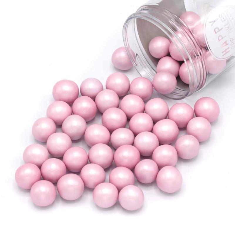 Bolas de chocolate XXL rosa Happy Sprinkles 135 g