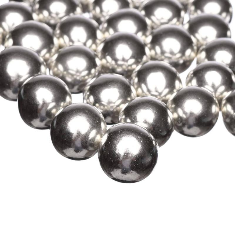 Bolas de chocolate XXL plata Happy Sprinkles 135 g