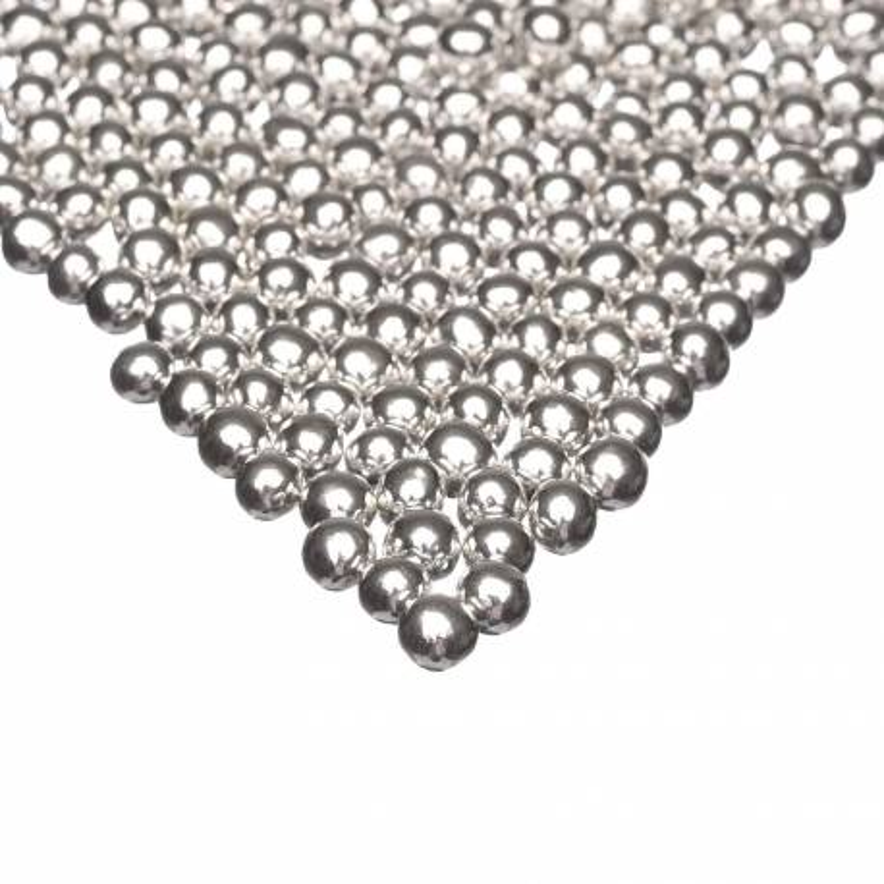 Billes en chocolat couleur argent Happy Sprinkles - 75 g