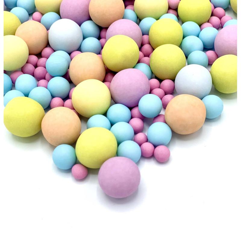 Billes en chocolat Bubble gum Happy Sprinkles - 135 g