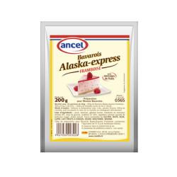 Préparation pour bavarois Alaska-express framboise - 200 g