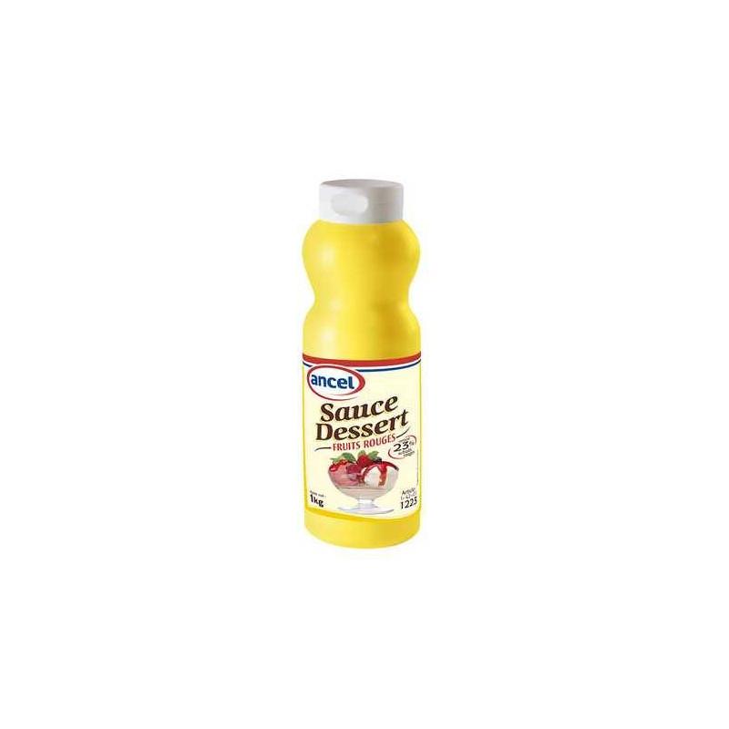Sauce dessert fruits rouges Ancel - 1 kg