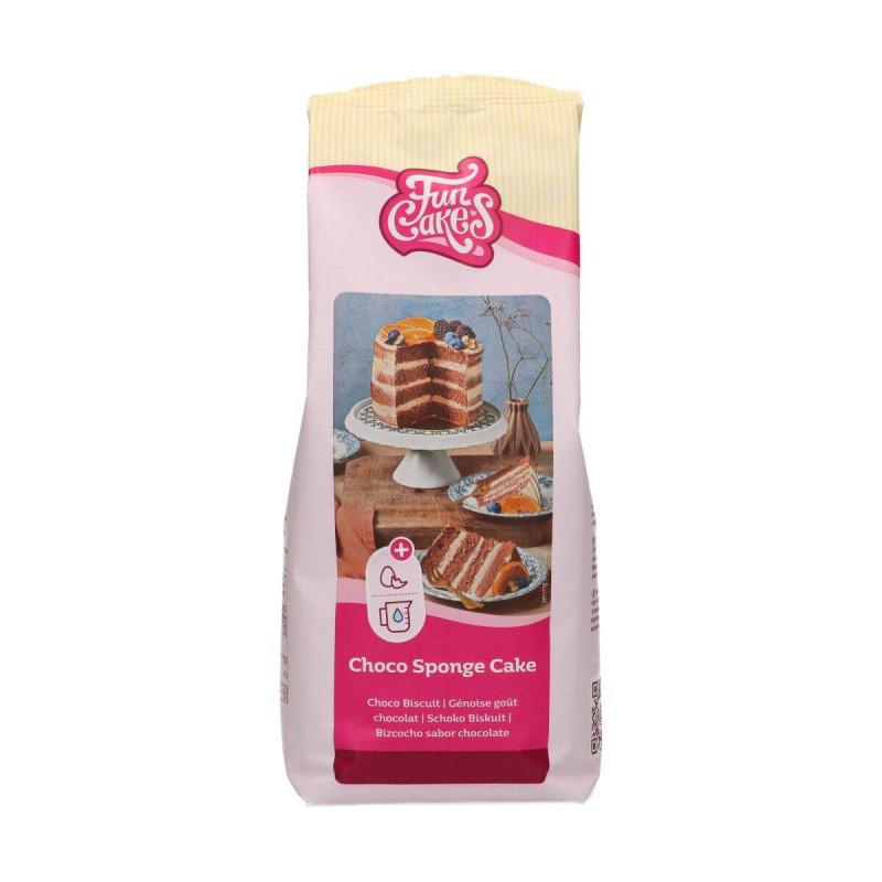 Preparación para esponja de bizcocho de chocolate 1kg