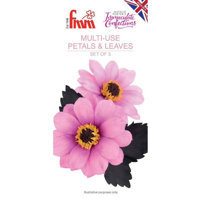 Multi-purpose petal and leaf cutters FMM