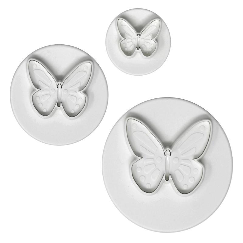 Emporte pièces papillons PME - 3 tailles