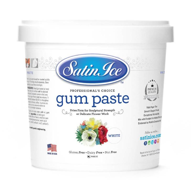 Gum paste white Satin Ice 1 kg
