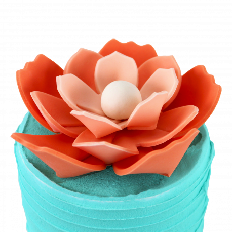 Origami flower cookie cutters PME - 3 sizes