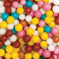 Billes en sucre multicolores 100 g