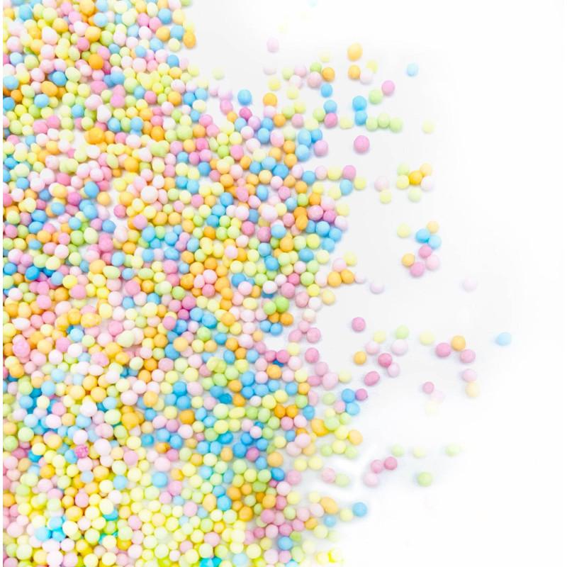 Happy Sprinkles mini cuentas de colores pastel 90 g