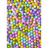 Grosses billes en chocolat couleur printemps Sweetapolita 106g
