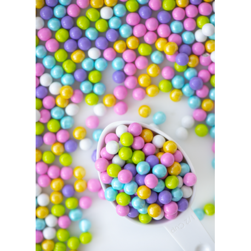 Sweetapolita large spring coloured chocolate balls 106g